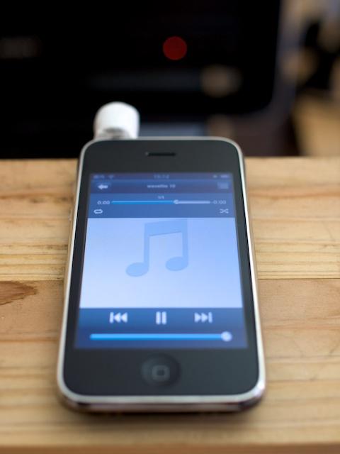 play wav file iphone
