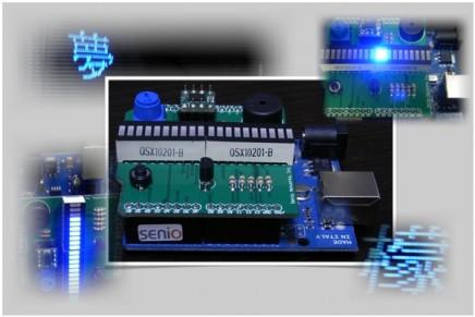 ワクワクワークショップ~五徳バー LED シールドを作って Arduino でお得に遊ぼう!