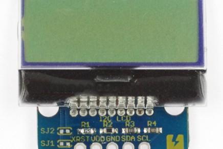 「I2C LCD Breakout」を使ってみた!