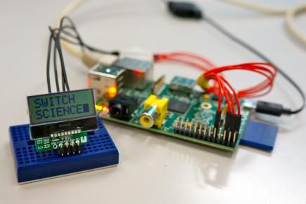 Raspberry Piで「I2C LCD Breakout」を使ってみた!