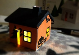 Growing house set_halloween
