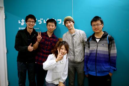 Seeed Studioさんたちが遊びに来てくれました!