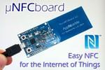 NFC搭載のmbed「MicroNFCBoard」