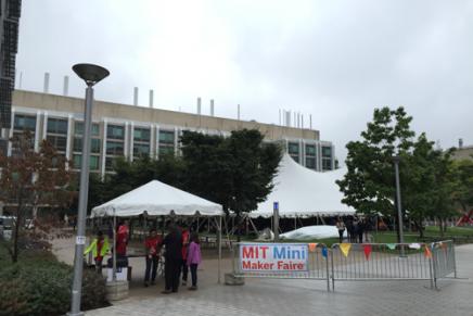 MIT Mini Maker Faireに行ってみました。