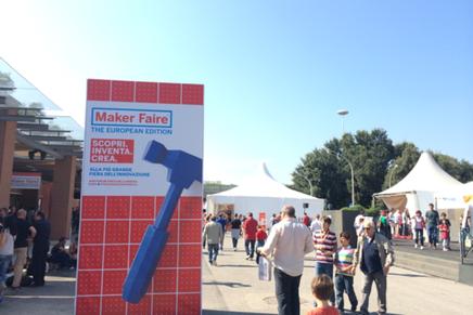 Maker Faire Rome 2014の中日です!