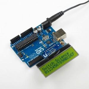 16x2行の小さい液晶を使いやすい2.54mmピッチに変換します。