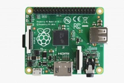 Raspberry Pi Model A+が発表されました。