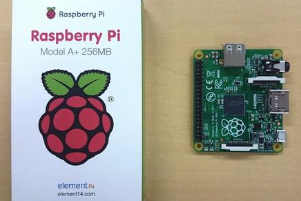 Raspberry Pi Model A+がやってきました。