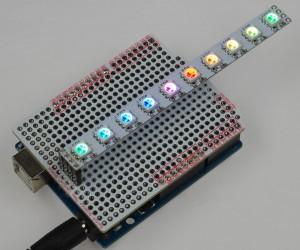 LEDバーを展示しました