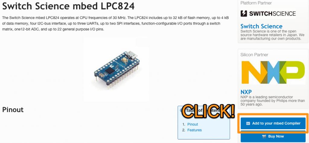 mbed-lpc824-platform