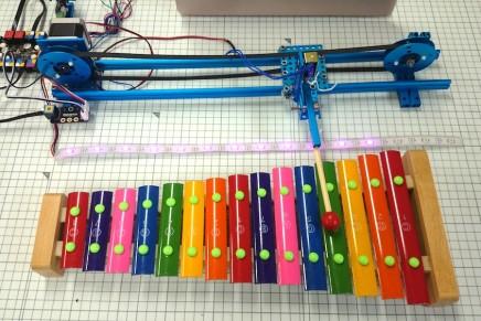 Makeblockミュージックロボットキットを組み立てました