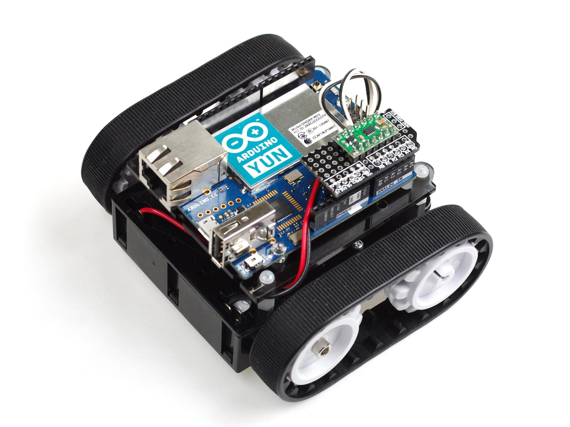 Arduino yúnでwifiラジコンをつくってみました。 スイッチサイエンス マガジン