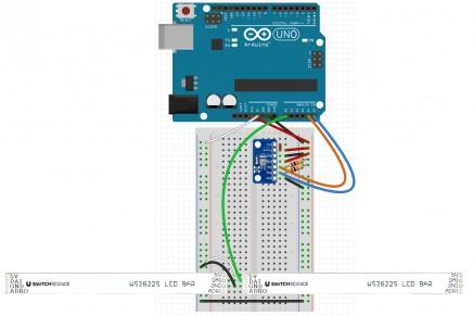 温度気圧計を作ってみよう (3) 配線