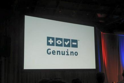 新ブランド「Genuino」が発表されました。