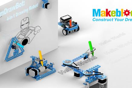 「mDrawBot」のMakuakeプロジェクトが目標額を達成しました!