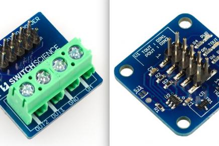 MESH GPIOタグ用拡張基板を発売します。(タッチセンサーとモータードライバー)