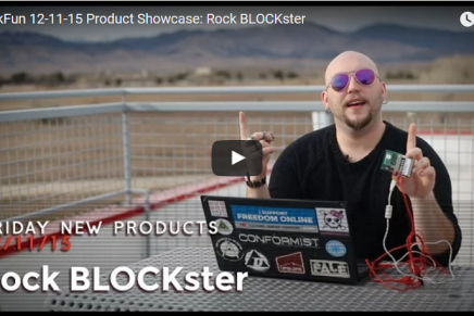 Friday Product Post: RockBLOCKster
