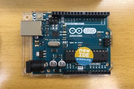 新型Arduino Uno入荷!発売日は未定です。