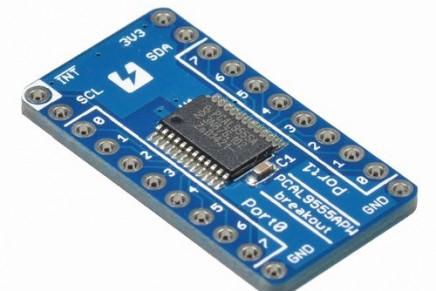 PCAL9555APW I2C GPIOエクスパンダの使い方をまとめました。