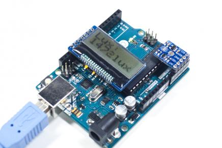 TSL2561光センサを使って光量計を作る