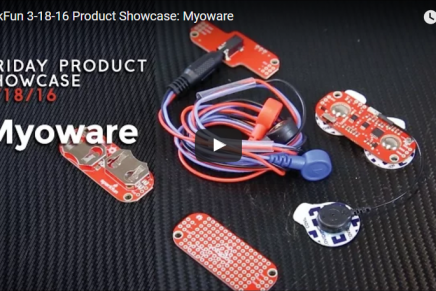Friday Product Post: My Oh MyoWare!