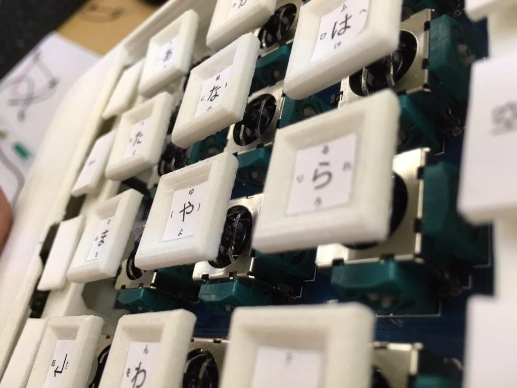 物理フリックキーボードを作りま...
