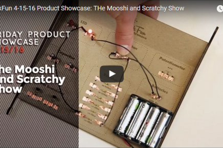 Friday Product Post: The Mooshi and Scratchy Show