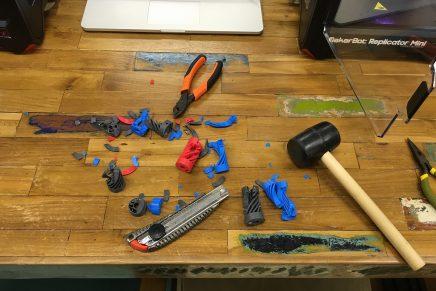 MakerBot新製品を発売しました&案内会に参加してきました。