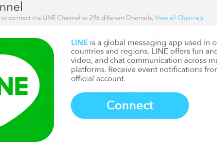 IFTTTにLINE Channelができました