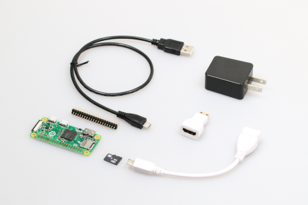 Raspberry Pi Zero v1.3 スターターキットを発売しました