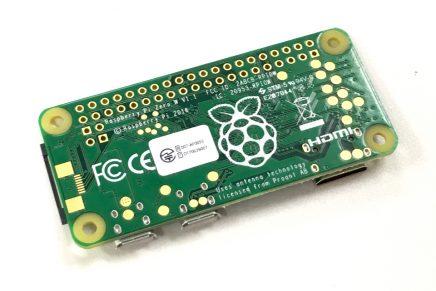 Raspberry Pi Zero Wの発売と工事設計認証の表示について
