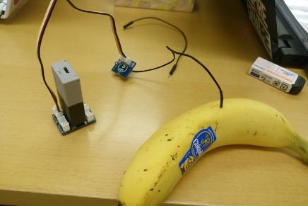 バナナをとった犯人を特定しよう! 【MESH + Grove】