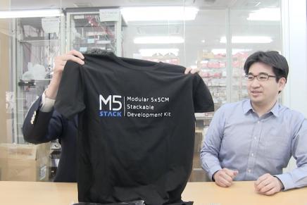 M5Stack Tシャツプレゼント【スイッチサイエンスチャンネル】