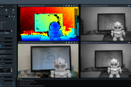Intel RealSense Depth Camera D435を試してみました!