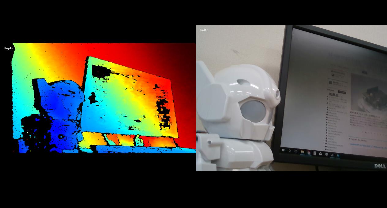 Intel RealSense Depth Camera D435を試してみました