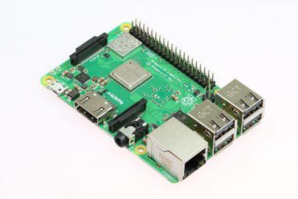 Raspberry Pi 3 Model B+(プラス) 発売しました