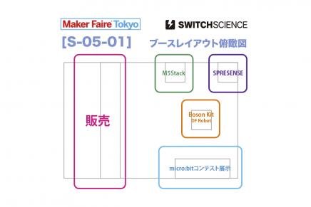 MakerFaireTokyo2018 スイッチサイエンスブース ~ 予告編