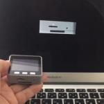パソコン上のM5Stackの3Dモデルを、M5Stackの動きに合わせて...