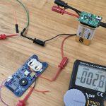 「ISP1807搭載BLEマルチセンサーボード」の消費電流を減らす...
